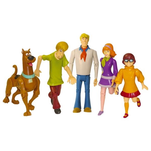figurines scooby doo 15 cm le scooby gang jeux et. Black Bedroom Furniture Sets. Home Design Ideas