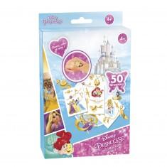 Kit de tatouages Princesses Disney : Mes tatouages bijoux