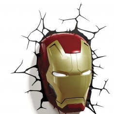 Masque Lumineux Super Héros Avengers : Iron Man Lansay