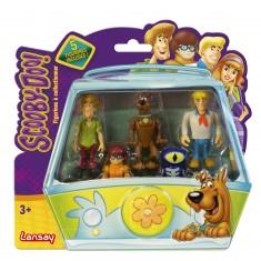 Pack de 5 figurines de collection Scooby-Doo avec Verra
