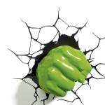 Poing lumineux Super Héros Avengers : Hulk