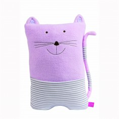 Peluche coussin : Big Travelino : Chat Pippa
