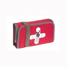 Pochette de premiers secours : Rouge