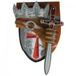 Accessoires pour panoplies médiévales : Croisé