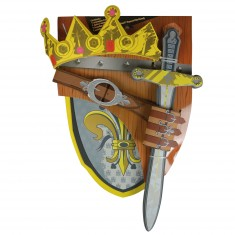 Accessoires pour panoplies médiévales : Roi de France