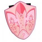 Bouclier en mousse : Fée rose
