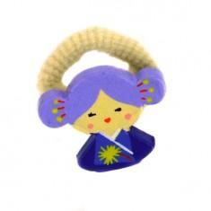 Chouchou Kokeshi : Emi (lot de 2)