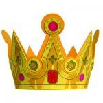 Couronne en mousse Roi : Fleur de Lys