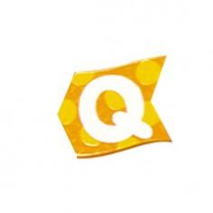 Lettre volante en bois : Q