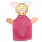 Marionnette à doigts animal Cochon