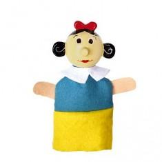 Marionnette à doigts personnage Blanche Neige