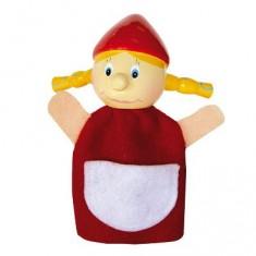 Marionnette à doigts personnage Chaperon rouge