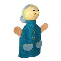 Marionnette à doigts personnage Grand Mère