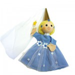 Marionnette à main Fée bleue