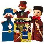 Marionnette à mains : Coffret Trio Guignol + livret