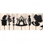 Marionnettes à ombres Set de 6 pièces : Pinocchio