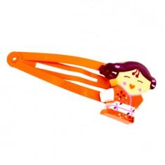 Pince à cheveux Kokeshi : Akiko (lot de 2)