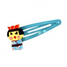 Pince à cheveux Kokeshi : Asami (lot de 2)