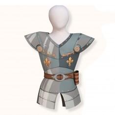 Plastron Chevalier Jaune : Armure historique en mousse : 7/10 ans