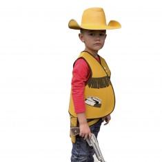 Plastron Cowboy : Gilet en mousse : 5/8 ans