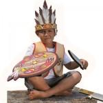 Plastron Indien : Gilet en mousse : 5/8 ans