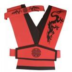 Plastron Ninja : Kimono en mousse + Bandeau