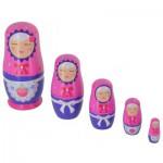Poupées Matriochkas poupées russes : Katerina