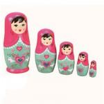 Poupées Matriochkas poupées russes : Lilia