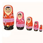 Poupées Matriochkas poupées russes : Shanti