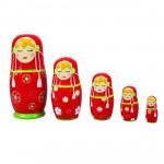 Poupées Matriochkas poupées russes : Tatiana