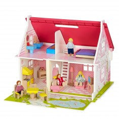Maison de poupées : Flower Small Cottage