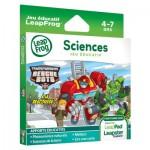 Jeu pour consoles LeapPad et Leapster Explorer : Sciences avec Transformers Rescue Bots