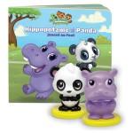 Livre interactif Les petits apprentis : Hippopotame et Panda jouent au foot