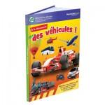 Livre LeapReader : A la découverte des véhicules