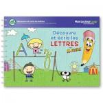 Livre LeapReader : Découvre et écris les lettres avec Mr Crayon