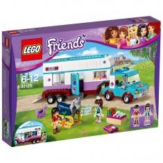 Lego 41125 Friends : La remorque à chevaux du vétérinaire