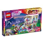 Lego 41135 Friends : La maison de la Pop Star Livi