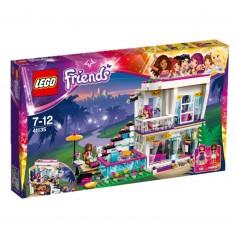 Lego 41135 Friends : La maison de la Pop Star Livi