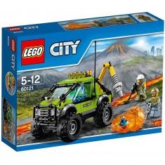 Lego 60121 City : Le camion d'exploration du volcan
