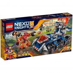 Lego 70322 Nexo Knights : Le transporteur de tour d'Axl