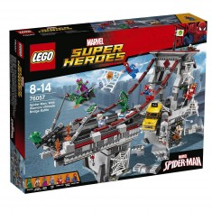 Lego 76057 Super Heroes :  Spiderman : Le combat suprême sur le pont des Web Warriors