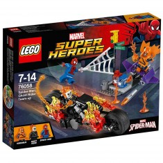 Lego 76058 Super Heroes : Spiderman : L'équipe de Ghost Rider
