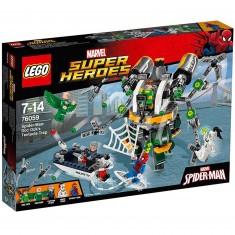 Lego 76059 Super Heroes : Spiderman : Le piège à tentacules de Doc Ock