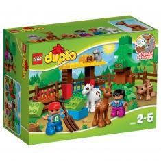 Lego 10582 Duplo : Les animaux de la forêt