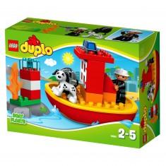 Lego 10591 Duplo : Le Bateau des Pompiers