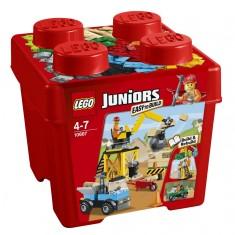 Lego 10667 Juniors : Boîte de construction du chantier