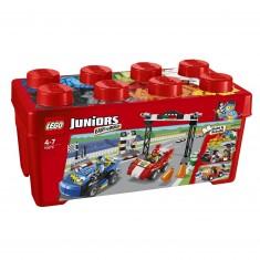 Lego 10673 Juniors : Grande boîte du rallye automobile