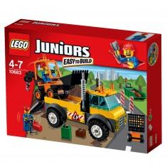 Lego 10683 Juniors : Le camion de chantier