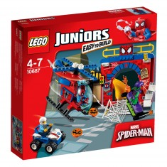 Lego 10687 Juniors : Super heroes : La cachette de Spiderman