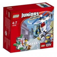 Lego 10720 Juniors : La poursuite en hélicoptère de police